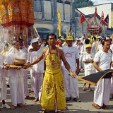 Procession of the Vegetarian Festival, Phuket, Thailand, Southeast Asia, Aisa