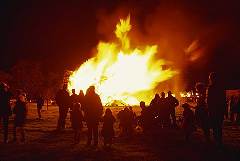Guy Fawkes Night – Then and Now