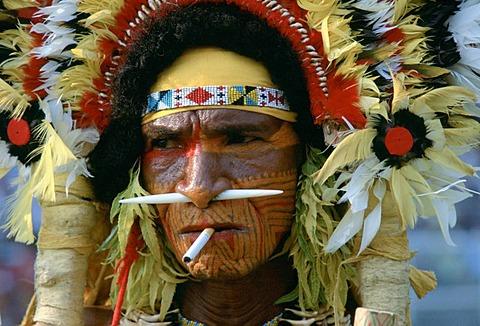 Portrait in Papua New Guinea