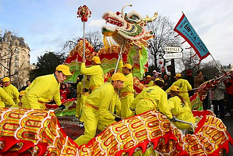 Chinese New Year, Paris, France, Europe