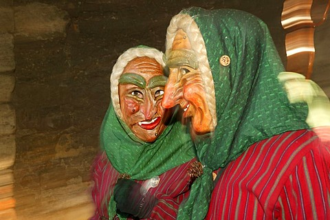 The scary masks of Fastnacht