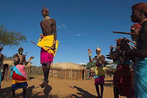 Samburu tribal dance