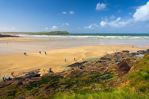 UK, England, Cornwall, Polzeath Beach