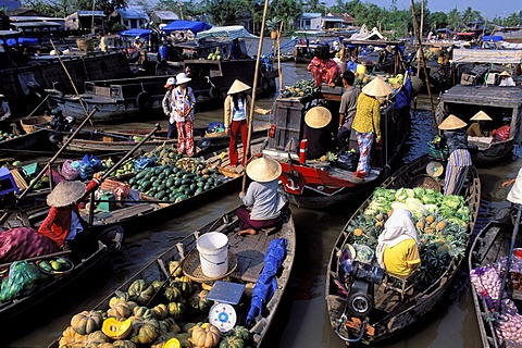 Thailand's floating markets