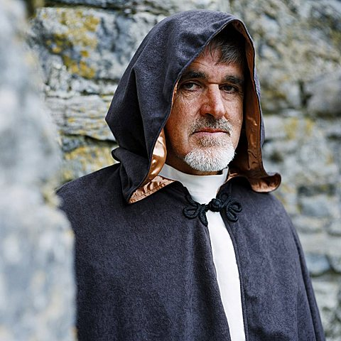 Dara Molloy, Celtic Monk, Aran Islands, Republic of Ireland (Eire), Europe