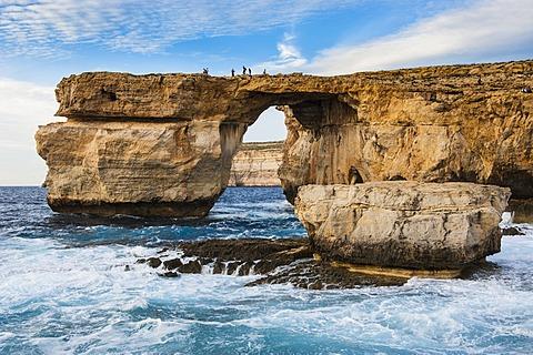 Natural sea arches