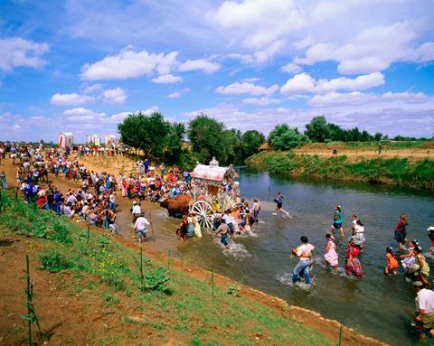 The pilgrimage to El Rocío