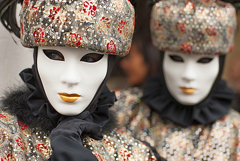 The masks of Venice Carnival