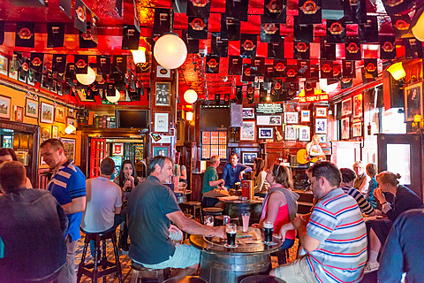 Interior of the Temple bar pub, Dublin, Ireland