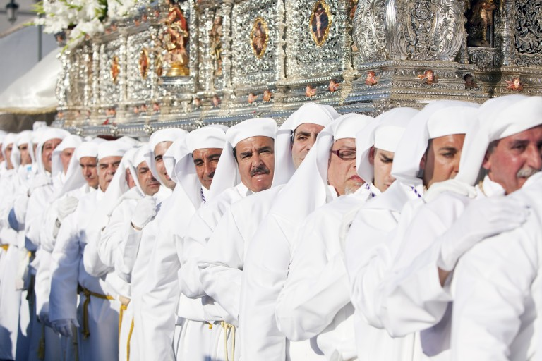 Spectacular Holy Week processions in Malaga, Spain