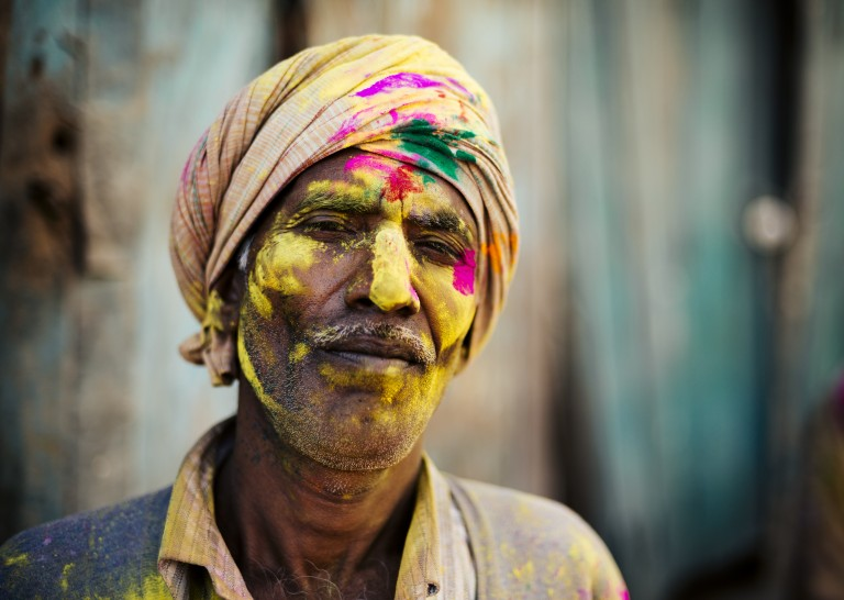The colours of Holi Festival by Ben Pipe