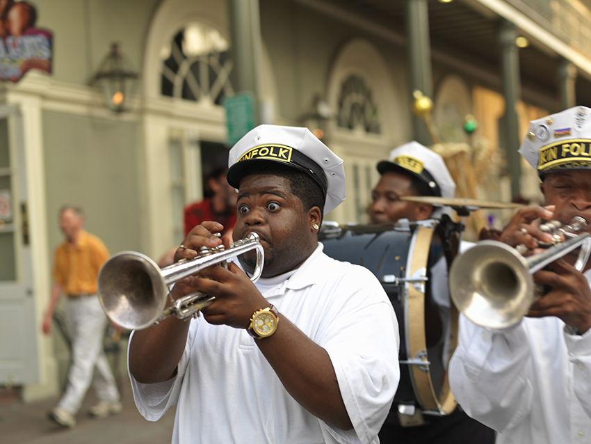 History and hedonism in New Orleans