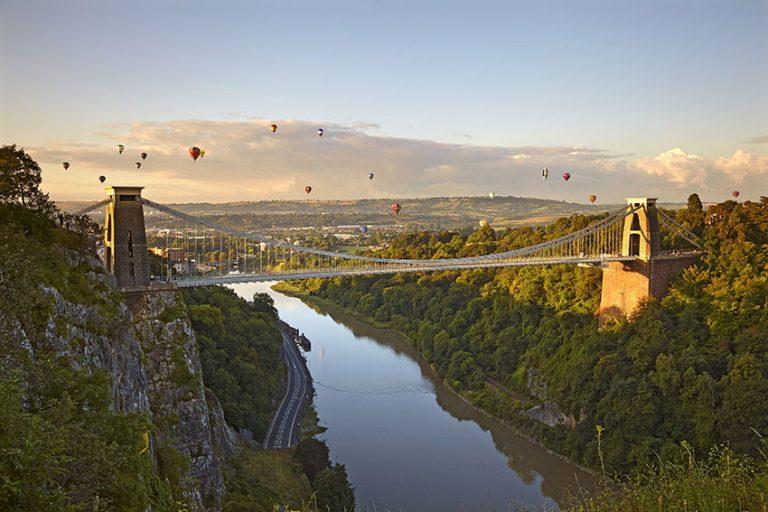 Bristol's colourful Balloon Fiesta takes off