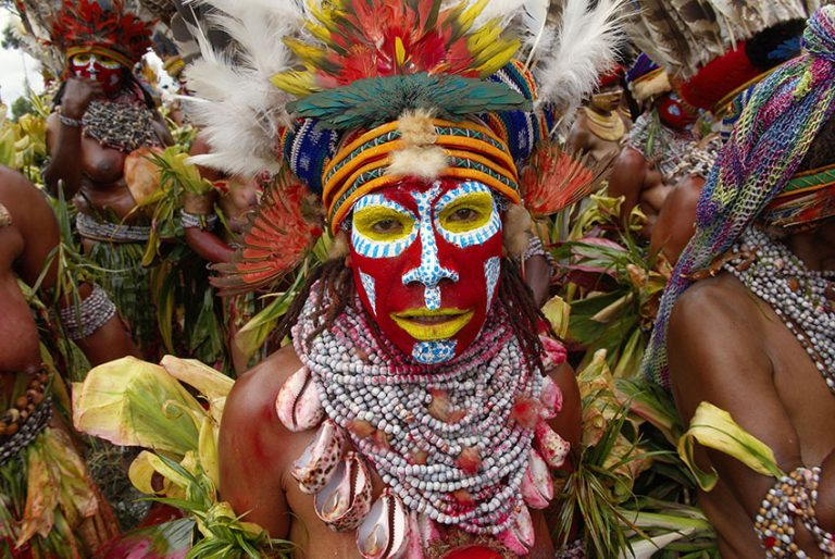 Tribal traditions at the Mount Hagen Cultural Show