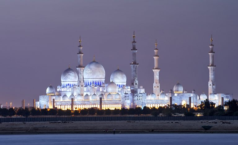 Incredible Sheikh Zayed Mosque, Abu Dhabi