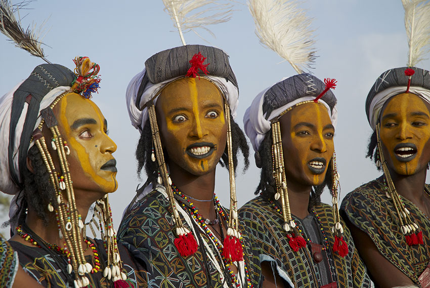 The Gerewol – a male beauty contest in the desert