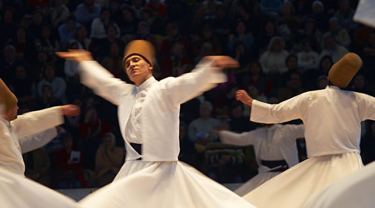 The spectacular Whirling Dervishes festival