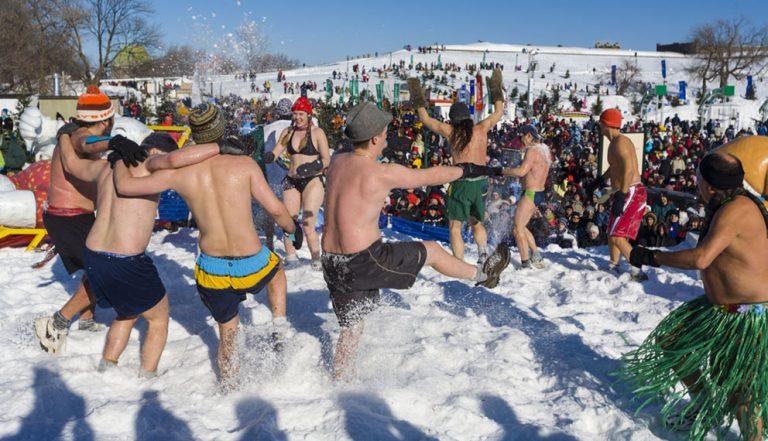 Québec's crazy Winter Carnival