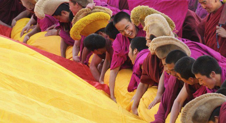 Tibetans celebrate Losar New Year Festival