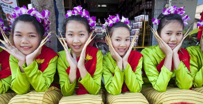 Chiang Mai Flower Festival in full bloom
