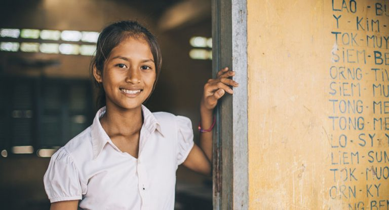 VSO changes lives in Cambodia through education