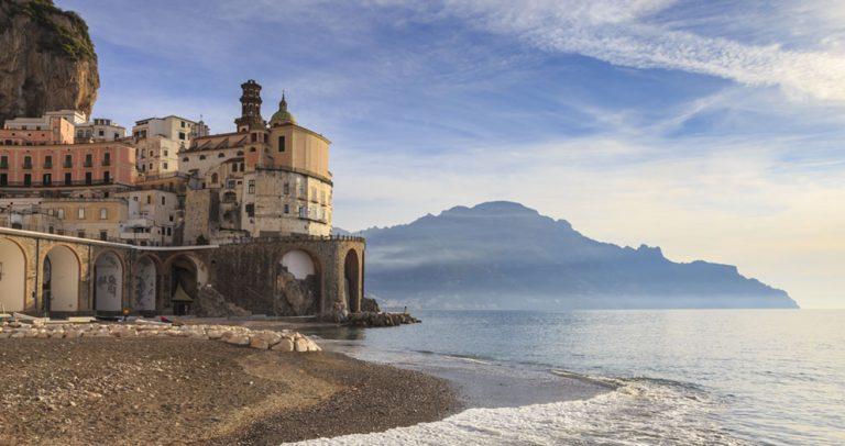 The beauty of the Amalfi coast by Eleanor Scriven