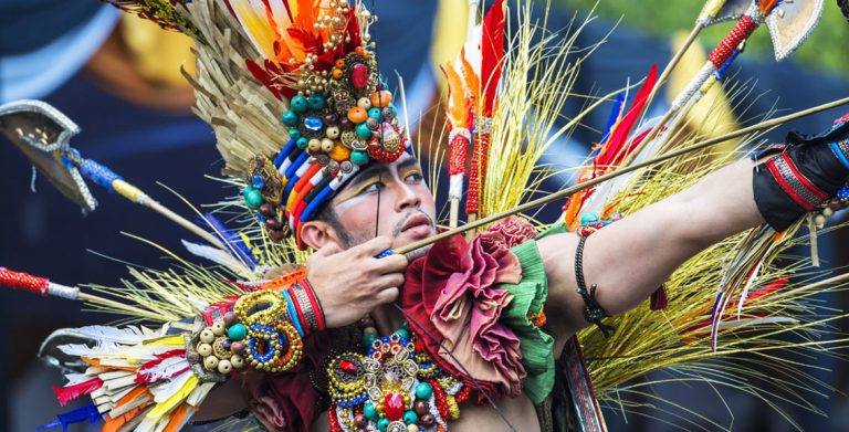 Outrageous costumes at Indonesia's Jember Fashion Carnival
