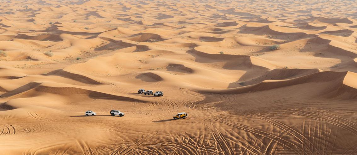 Dubai's desert wonders by Alexandre Rotenberg