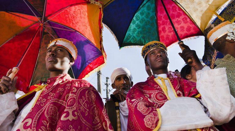 Celebrating Meskel Festival in Ethiopia