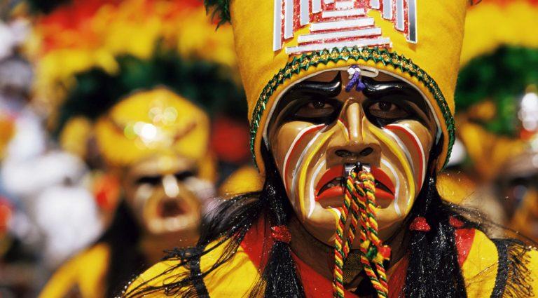 Dancing with demons at Peru's Diablada festival