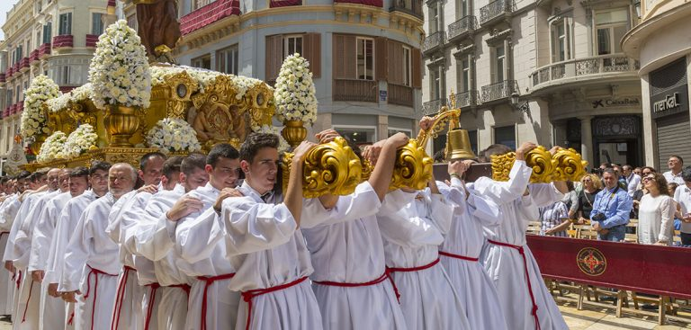 Frank Fell captures Malaga's passionate Easter processions