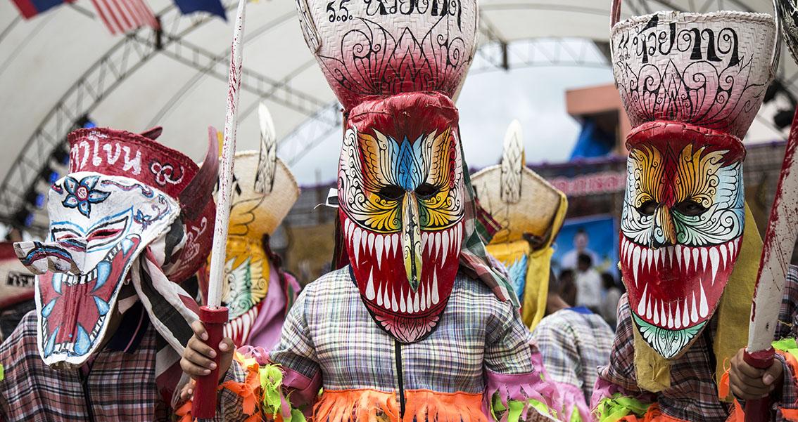 Thailand's riotous Ghost Festival