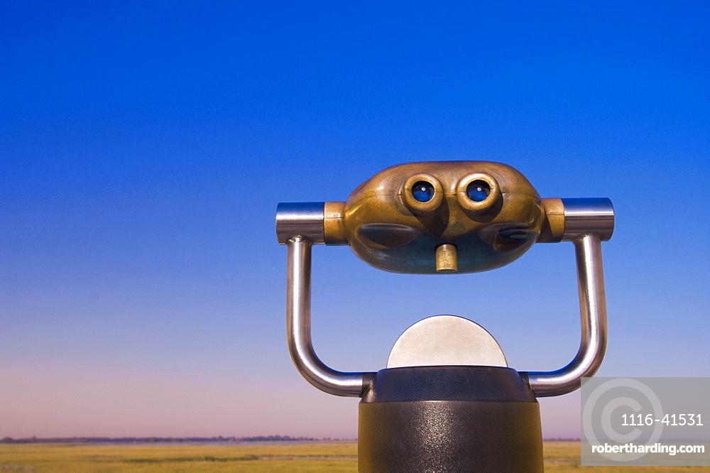Giant Binoculars.