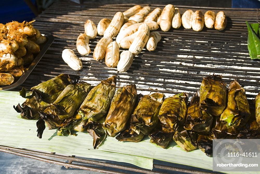 Street vendor food, Kamphaeng Phet, Thailand