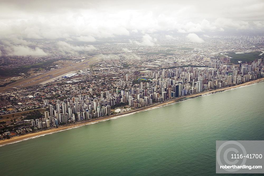 Views Of Boa Viagem Beach, Recife Pernambuco Brazil