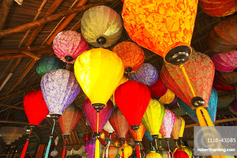 Lanterns, Famous In The Village Of Hoi An, Hoi An, Vietnam
