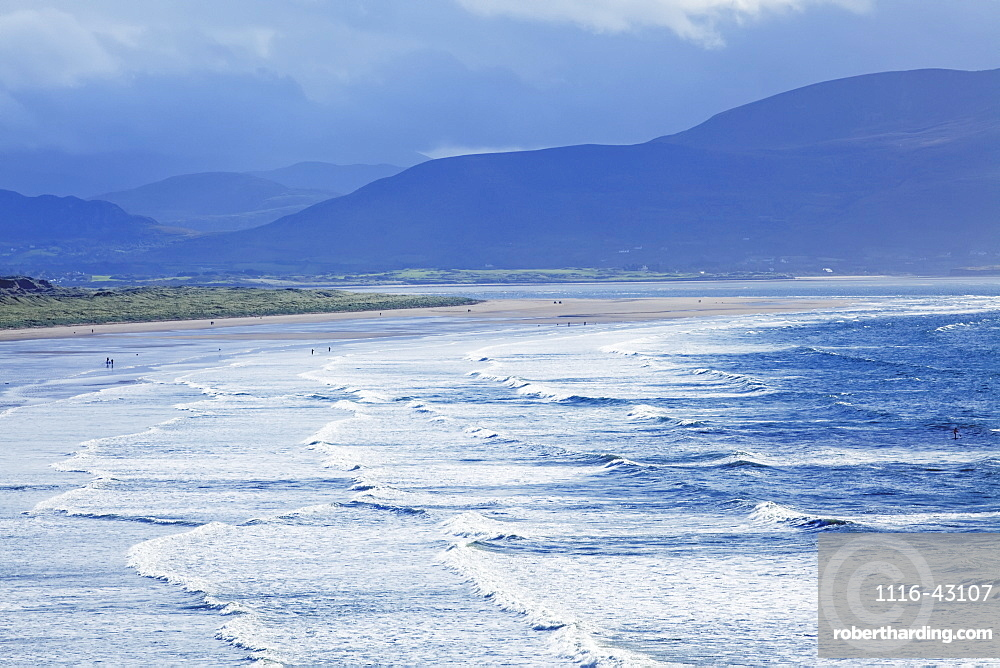 Inch Beach And Storm Clouds, Inch, County Kerry, Ireland