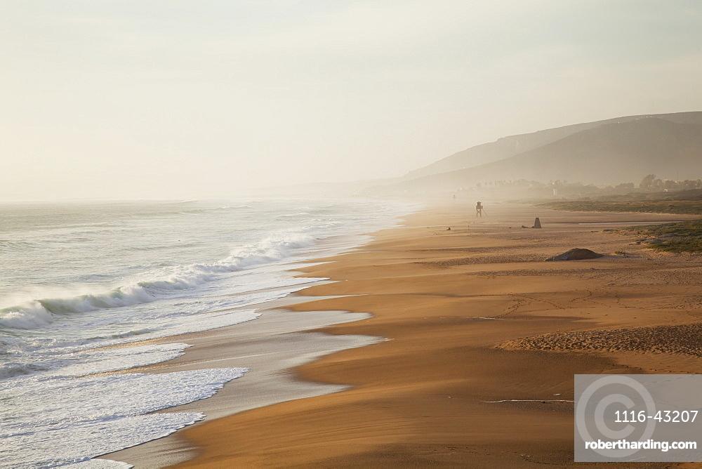 At The Beach Near Zahara De Los Atunes, Andalucia, Spain