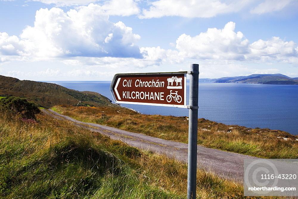 Near Kilrohane At The Goat's Pass, County Cork, Ireland