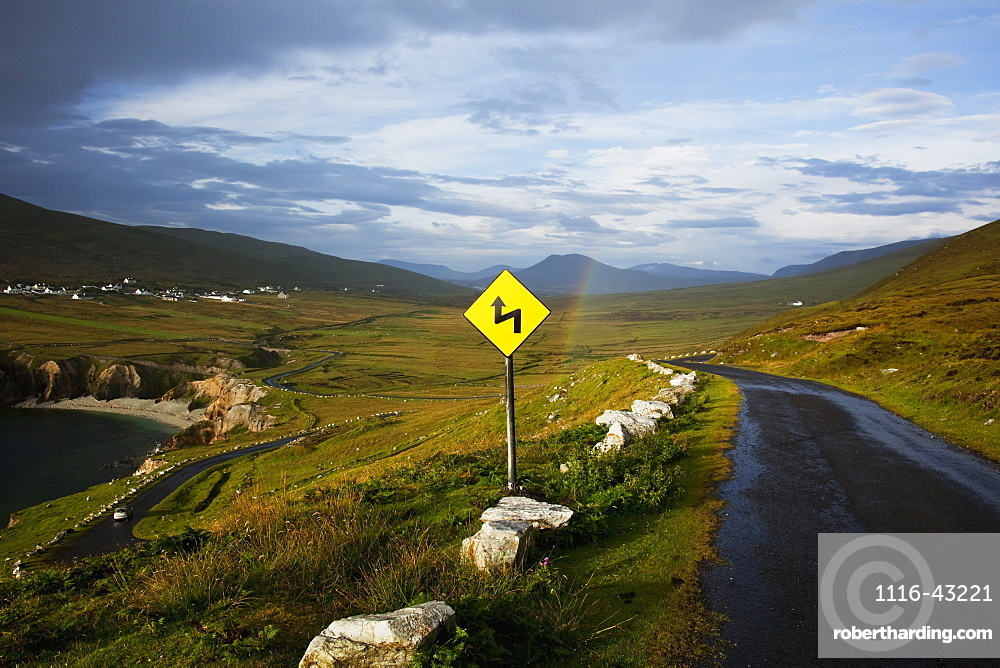 The Atlantic Drive On Achill Island, County Mayo, Ireland