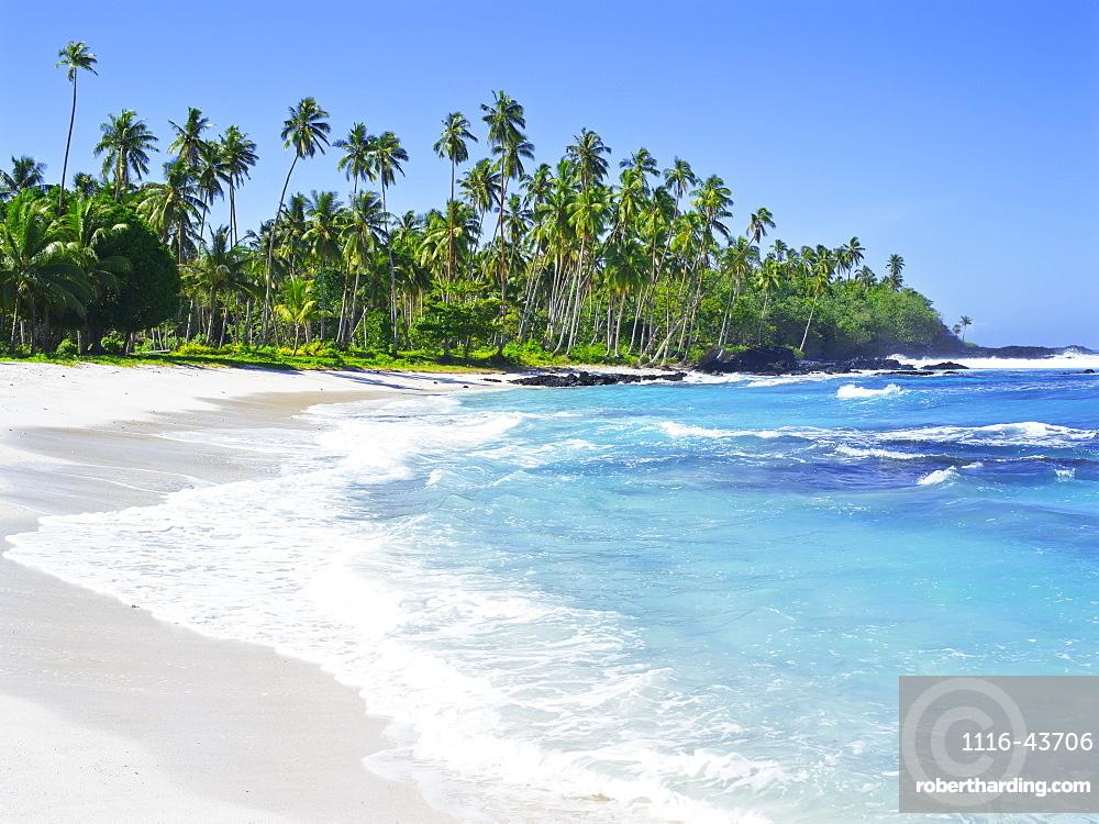 Samoan Coastline, Upolu Island, Upolu, Samoa