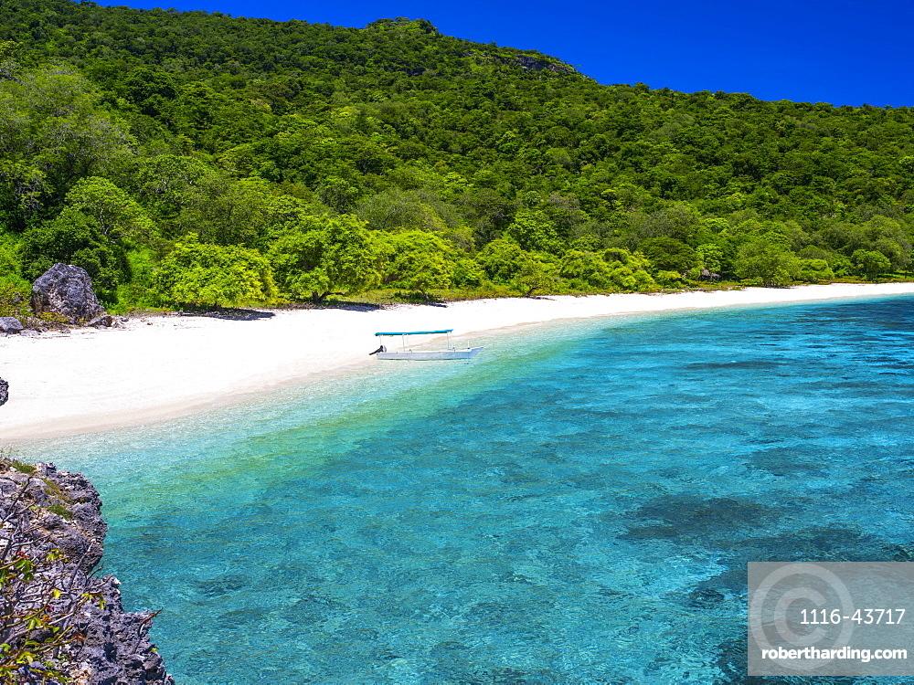 A Beach Near Baucau On Timor's Northern Coast, Timor-Leste