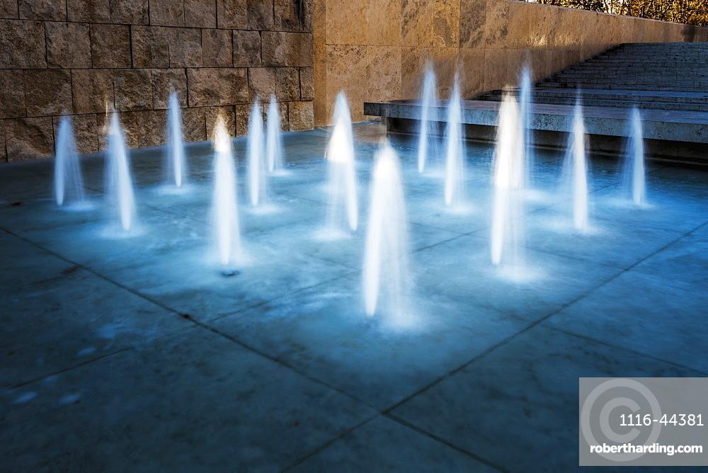 Fountain Illuminated, Rome, Italy
