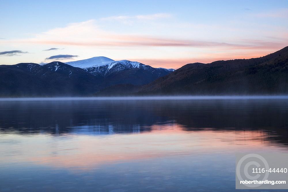 Dawn Over Fish Lake, Yukon, Canada