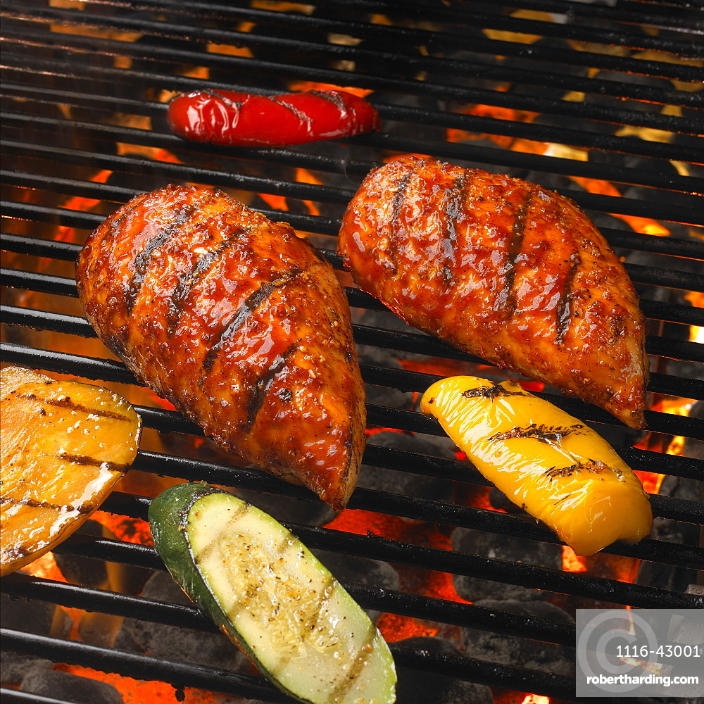 Food On The Grill
