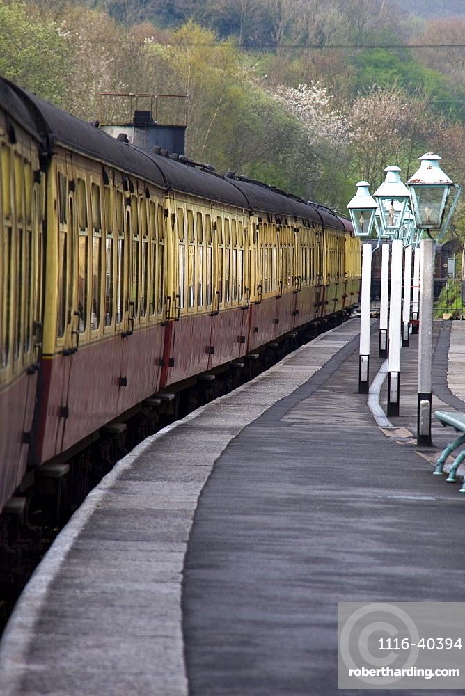 Train Station, Grosmont, North Yorkshire, England