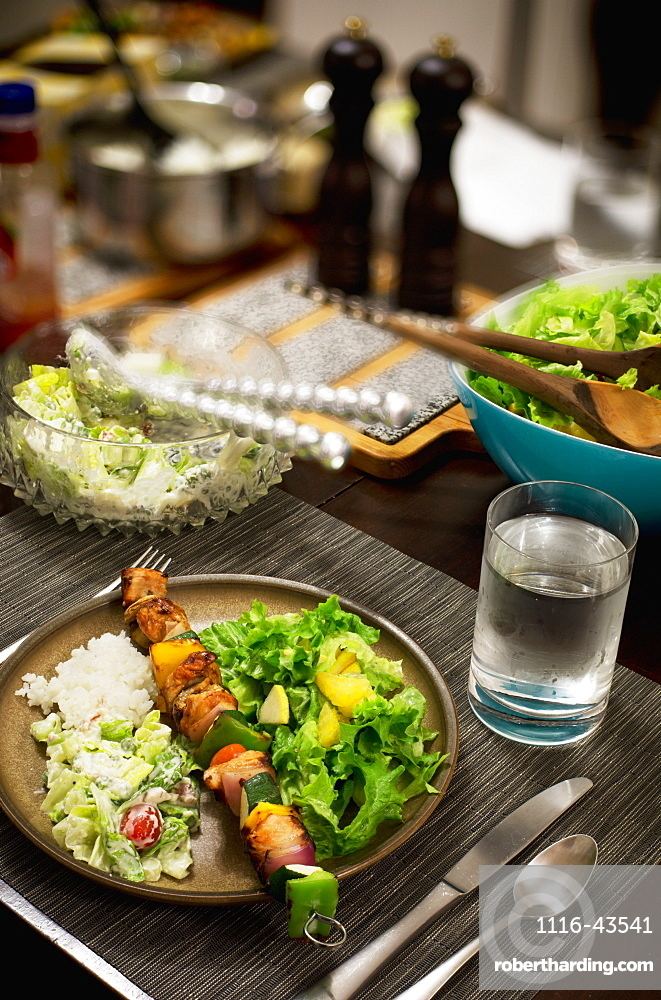 Healthy Eating For Dinnertime, Vancouver, British Columbia, Canada