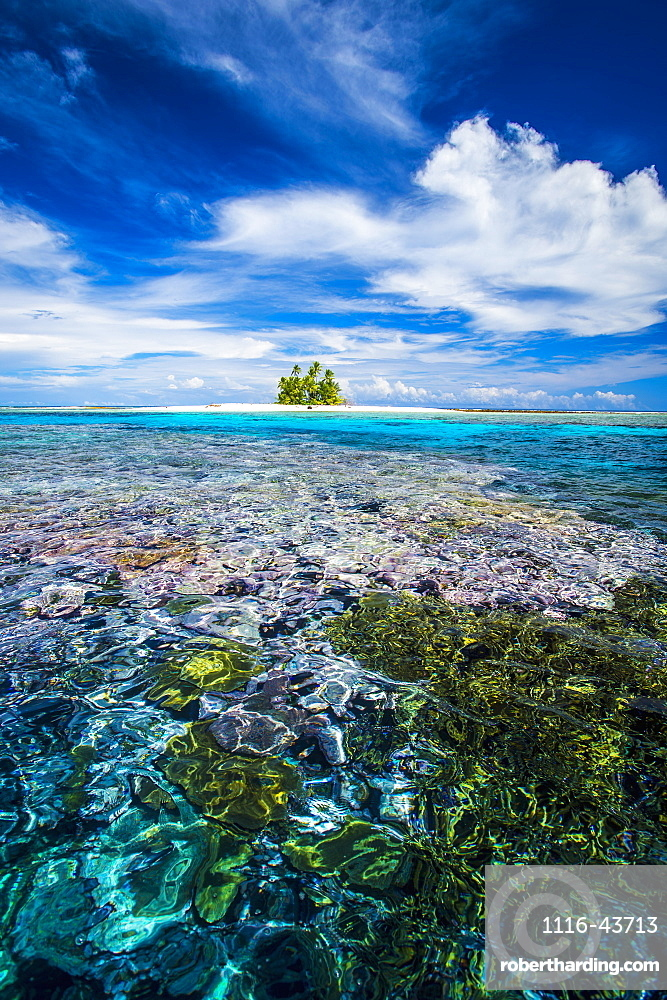 An Island That Forms Part Of The Marine Park, Near The Tuvalu Mainland, Tuvalu