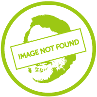 A motor scooter parked on a river bank whilst a young couple go into the water