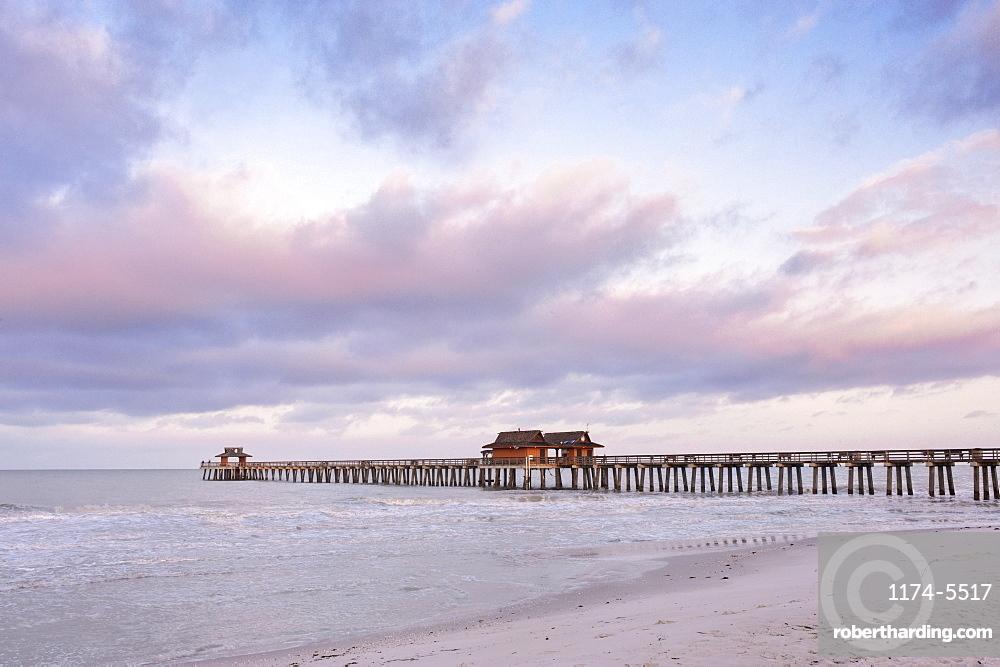 Naples Pier at Dawn, Naples, Florida, United States of America
